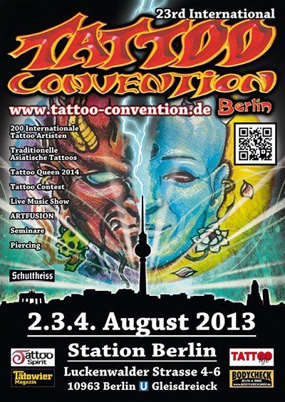 23 Tattoo Convention Berlin