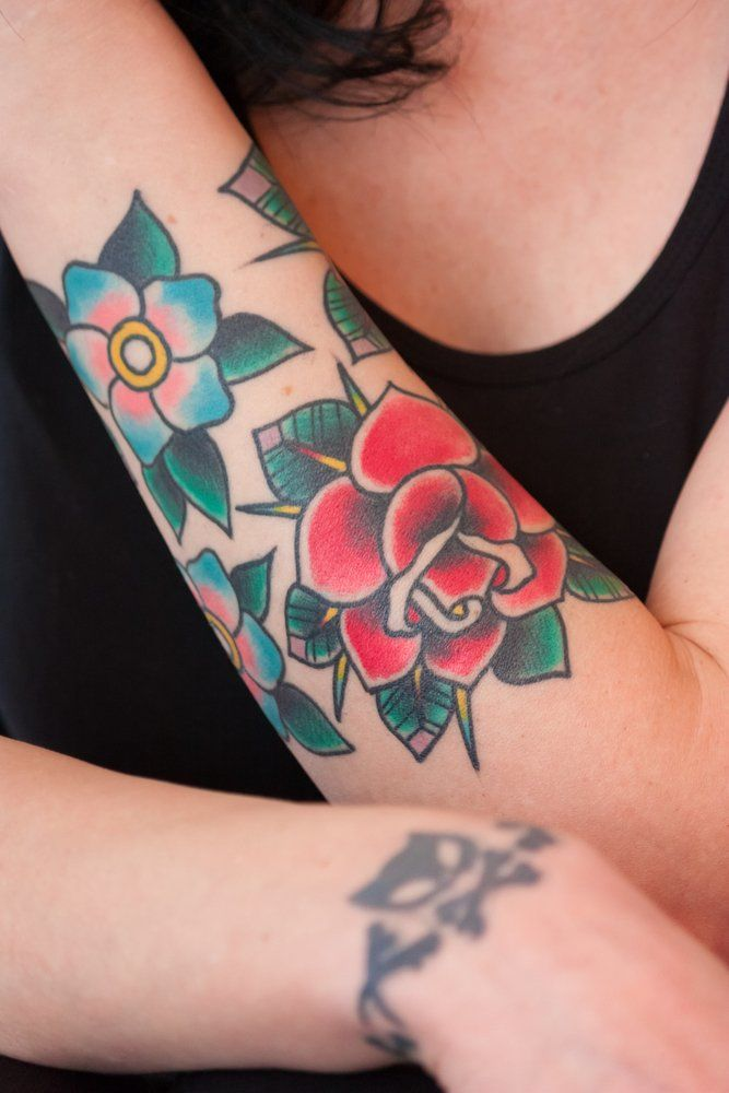Cover-up Tattoo Bedeutung Übertätowieren Kunst
