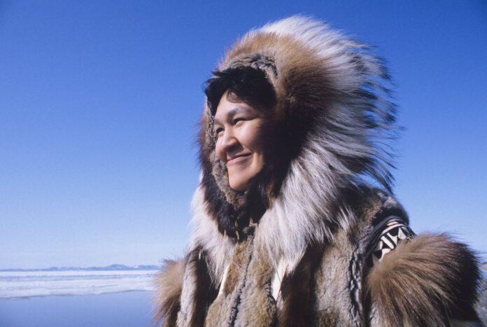 Das Piercing der Eskimos