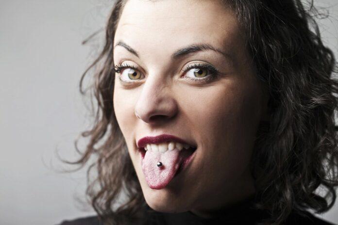 Das Zungenpiercing