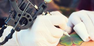 Die Tattoofarben