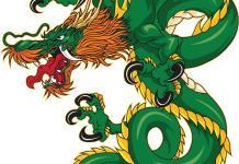 Drachen Tattoo Stil