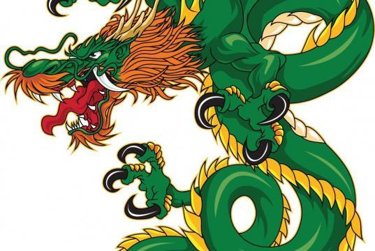 Drachen Tattoo Stil