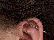 Gefahren beim Piercing Dehnen