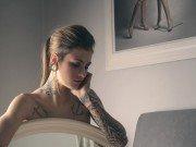 Intimpiercing Frau