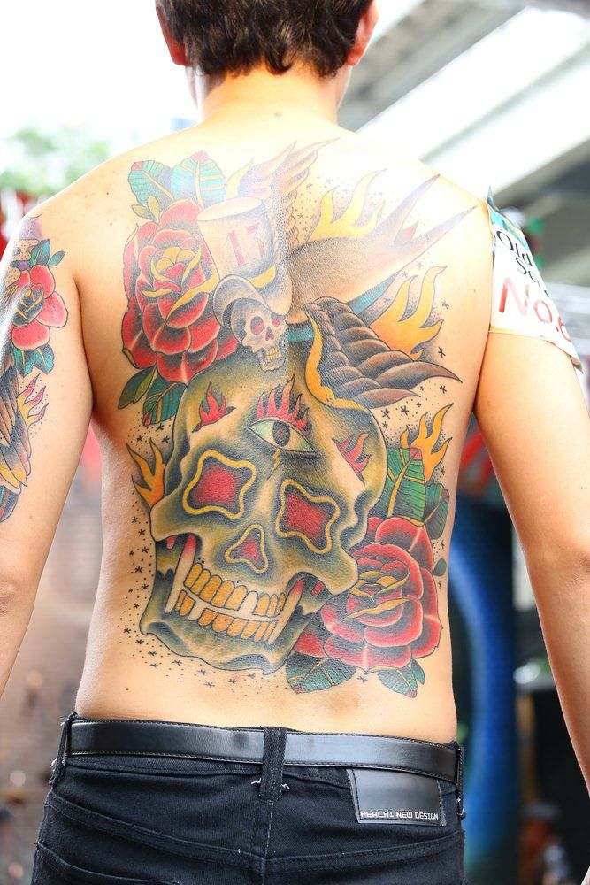 New School Tattoo Bedeutung Kunst Stil