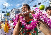 Piercing Thailand - das Vegetarian Festival