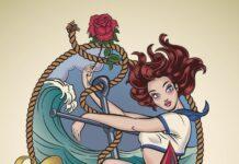 Seefahrer Tattoo Stil Motiv Frau