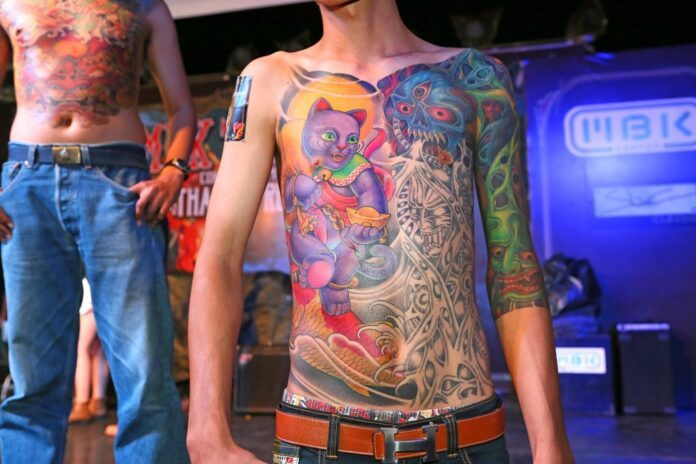 Tattoo Bodysuite Motiv Stil Contest