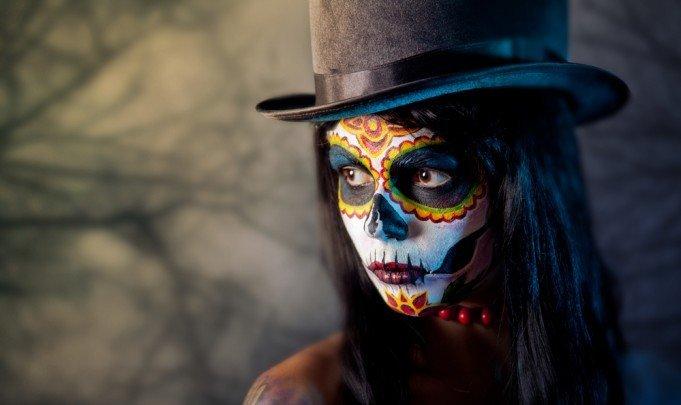 Tattoo Dia de los Muertos Totenmaske 1