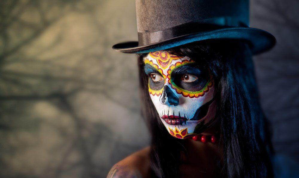 Tattoo Dia De Los Muertos Kunstvolle Totenmasken Bodyartnet