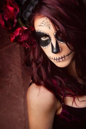 Tattoo Dia de los Muertos Totenmaske 2