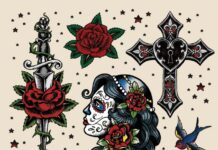 Tattoo Flash Bilder Vorlagen Motiv