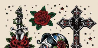 Tattoo Flash Bilder Vorlagen Motiv
