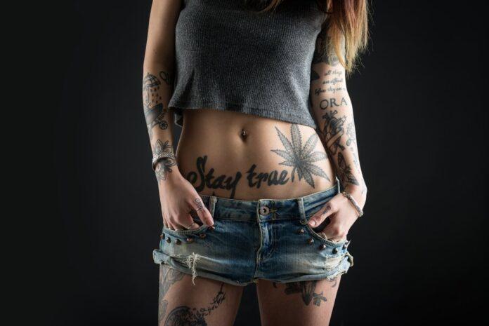 Tattoo Portrait Stil Motiv