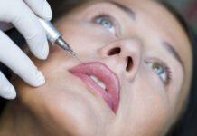 Temporäre Tattoos Temptoos Kosmetik Lippen