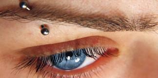 Piercing Augenbraue Augenbrauenpiercing Barbel Schmuck