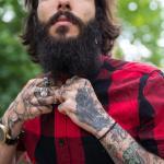 Tattoo Handgelenk - Motiv Portrait
