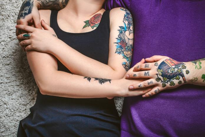 Tattoo Handgelenk - Pfeife