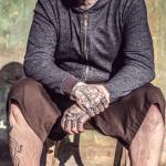 Tattoo Handgelenk - Schrift Portrait